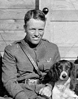 Quentin Roosevelt youngest son of U.S. President Theodore Roosevelt