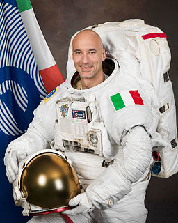 Luca Parmitano Italian engineer, pilot and ESA astronaut