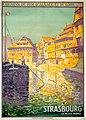 Lucien Blumer affiche chemins de fer Alsace Lorraine Strasbourg 1930.jpg