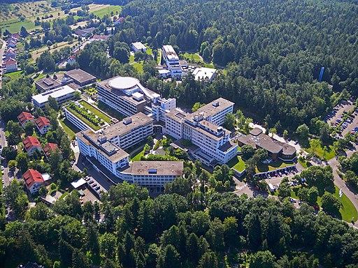 Luftbild SRH Klinikum Karlsbad Langensteinbach