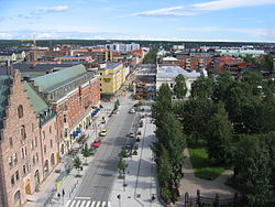 Storgatan in Luleå city