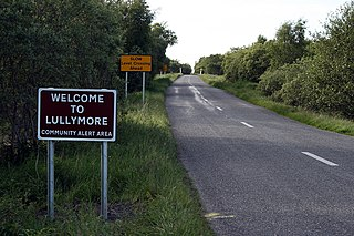Lullymore Town in Leinster, Ireland
