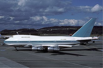 Boeing 747SP - Luxair 747SP at Zurich in 1981
