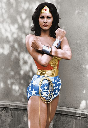 Wonder Woman (TV series) - Lynda Carter as Wonder Woman
