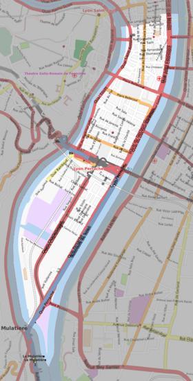 lyon 1er arrondissement plan