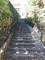 Lyon 9e - Montée de la Sauvagère, escalier qui arrive à la rue Jean-Baptiste Chopin.jpg