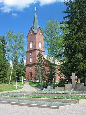 Mäntsälä - The church of Mäntsälä was completed in 1866.