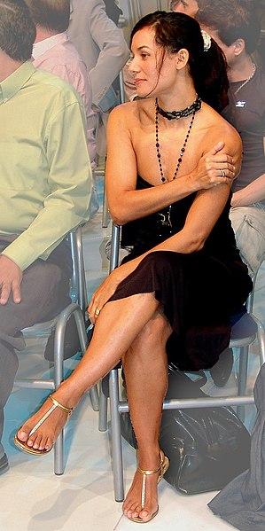 Brazilian actress Mônica Carvalho. Português: Atriz brasileira Mônica Carvalho.