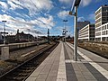 München, Bahnhof Donnersbergerbrücke, Gleis 1, 2 nach O 2018-01 (1).jpg