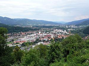 Überblick: Kapfenberg im Mürztal
