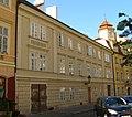 Měšťanský dům U bílé labutě (Staré Město), Praha 1, U Obecního dvora 3, Staré Město.JPG