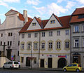 Městský dům Zelený dům (Hradčany), Praha 1, Pohořelec 1, Hradčany.JPG
