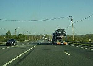 """Russian federal highways - M10 """"Rossiya"""""""