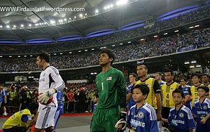Mohd Farizal Marlias - Farizal in Malaysia vs Chelsea