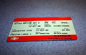 Manchester station group - A ticket from Manchester Stns to Preston. Any route is permitted so the passenger has a choice of embarking from either Piccadilly, Oxford Road or Deansgate on the TransPennine Express North West route or the Northern route, or from Victoria by Northern Rail.