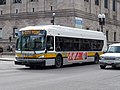 MBTA route 9 bus at Copley Square, February 2017.JPG