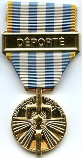 Political deportation and internment medal