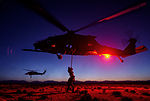 MPOTY 2014 Helo fast rope and hoisting training during exercise Advanced Guard.jpg