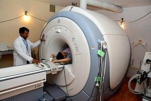GE Healthcare - GE Signa series MRI Scanner, used at Narayana Multispeciality Hospital, Jaipur