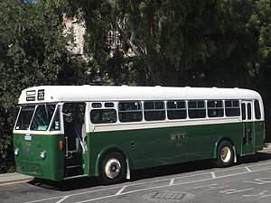 Transperth - Preserved AEC Regal VI in Metropolitan Transport Trust livery.