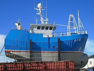 Fishing vessel - A robustly designed contemporary fishing boat