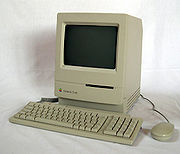 The Macintosh Classic, Apple's early 1990s budget model.