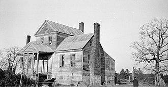 Nathaniel Macon - Image: Macon Home NC