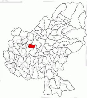 Mădăraș, Mureș Commune in Mureș, Romania