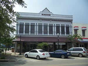 National Register of Historic Places listings in Madison County, Florida - Image: Madison FL W T Davis bldg 02