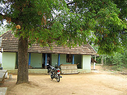 Traditional village house in Melur