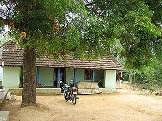 Melur taluk human settlement in India