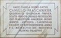 Magdalensberg Archaeologischer Park Gedenktafel Camillo Praschniker 02062016 2380.jpg