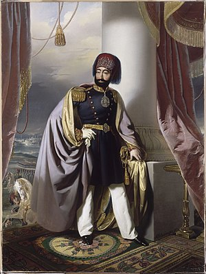 Treaty of Balta Liman - Mahmud II after his clothing reform in 1826