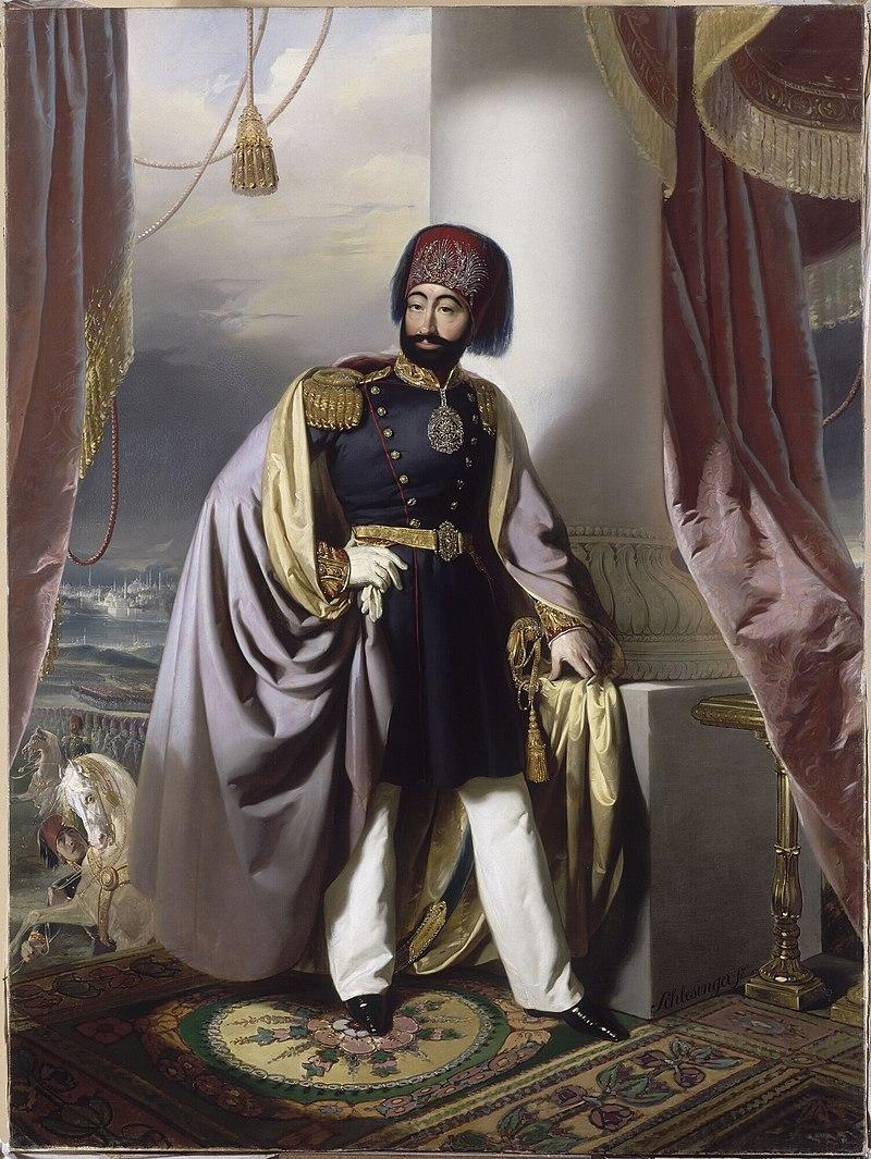 Османский султан Махмуд II