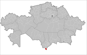 Maktaaral District Kazakhstan.png