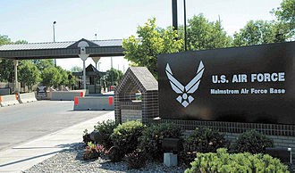Malmstrom Air Force Base - Main gate