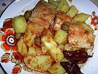 Stocco alla mammolese - Piatto tipico di Mammola e della Calabria