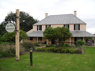 St Clair, New South Wales - Image: Mamre Homestead