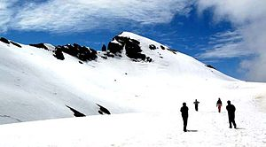 Manali, Himachal Pradesh - Manali is among top Indian skiing destinations.