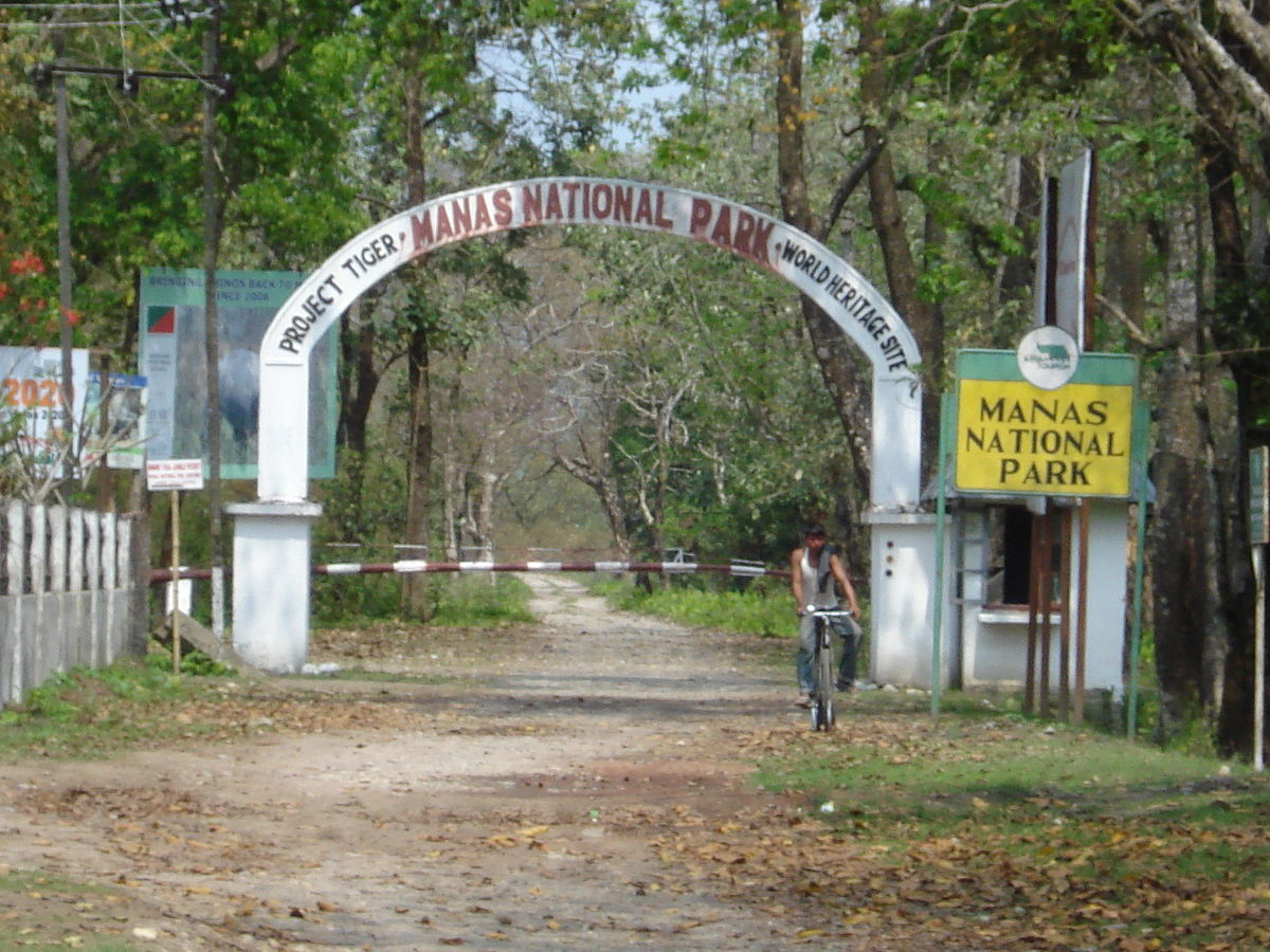 manas national park or manas wildlife The park is known for its rare and endangered endemic wildlife.