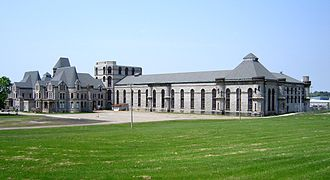 The Shawshank Redemption - Ohio State Reformatory, also known as the Mansfield Reformatory, served as the fictional Shawshank prison.