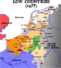 Map Burgundian Netherlands 1477-en