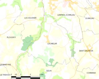 Locmélar Parish close