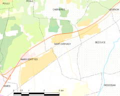 Map commune FR insee code 30257.png