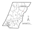 Map of Ashville, Cambria County, Pennsylvania Highlighted.png