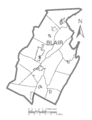 Map of Blair County, Pennsylvania No Text.png