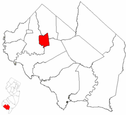 Map of Cumberland County highlighting Bridgeton.png