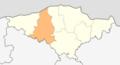 Map of Glavinitsa municipality (Silistra Province).png