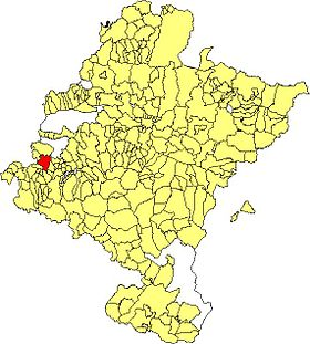 Maps of municipalities of Navarra Mendaza.JPG