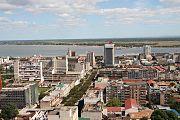 Maputo from the CFM building - Maputo do predio do CFM - 2